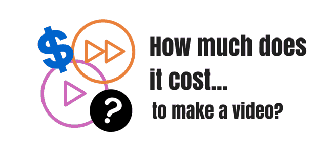 """How much does it cost…to make a video?"" Video Answers. Episode 9."