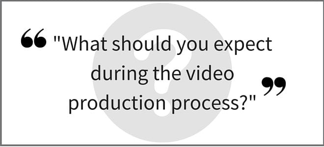 """What should you expect during the video production process?"" Part 2. Video Answers. Episode 13."