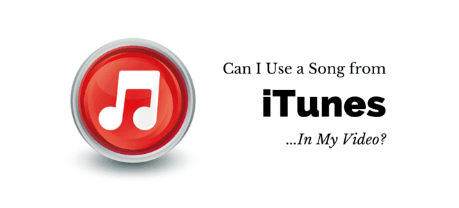 """Can I use a song from iTunes… in my video?"" Video Answers. Episode 5."