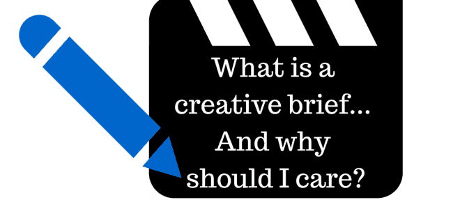 """What is a creative brief…And why should I care?"" Video Answers. Episode 7."