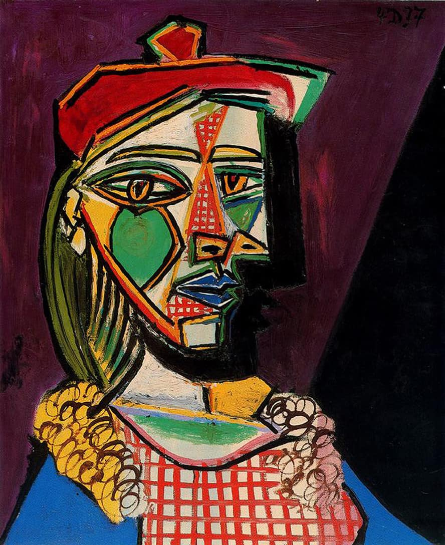 20160405_Image_VA EP66_Picasso_woman-in-beret-and-checked-dress-1937