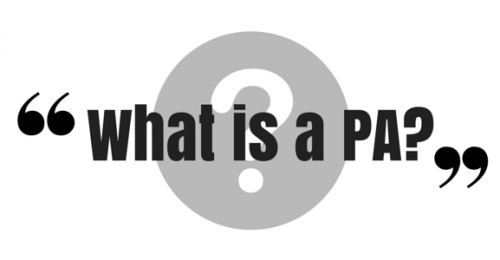 """""""What is a PA?"""" Video Answers. Episode 10."""
