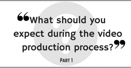 What should you expect during the video production process?