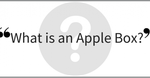"""What is an Apple Box?"" Video Answers. Episode 34."